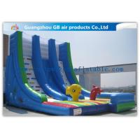 China OEM Island Theme Inflatable Water Slides For Teenagers In Graden / Park / Backyard wholesale