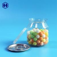 China Food Safe Clear Plastic Cans Snack Candies Pacing  Plastic Cylinder Container wholesale