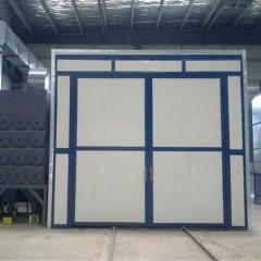 China Q26 series big tank pressure sand blasting Booth paint machine wholesale