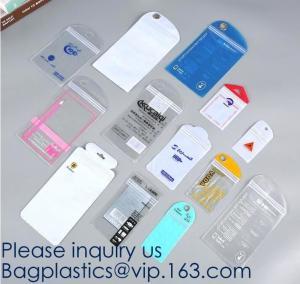 China Self Sealing PVC Plastic Zip Lock Bag Thick Clear Ziplock Earrings Jewelry Bag Packaging Storage Bags bagease bagplastic wholesale