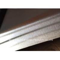 China Hairline Finish Cold Rolled Stainless Steel Sheet AISI 304 NO.4 With PVC on sale