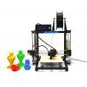 China Rapid Prototyping Desktop 3D Printer , Prusa i3 Aluminum 3D Printer wholesale