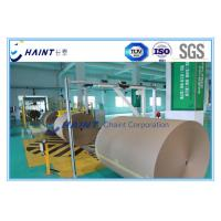 Customized Paper Roll Handling Conveyor , Paper Reel Handling Equipment With Installations