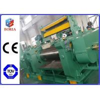 China PLC Controlled Customized Two Roll Mill Open Mixing Mill Rubber Mixing Mill wholesale