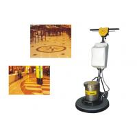 China Iron Handle Tile / Hard Floor Cleaning Machines floor scrubber 450mm 1500W on sale