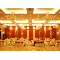 China Conference Room Folding Partition Walls Customers Own Material Finish wholesale