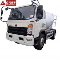 Buy cheap Professional 3CBM Concrete Mixer Truck 4*2 Feed Concrete Mixer Trucks For from wholesalers
