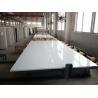 China Pure White Quartz Stone Slab Customized Exporting Countertop 3000 X 1400 Mm Size wholesale