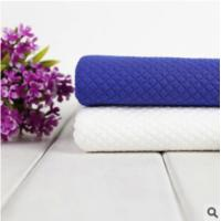China JACQUARD AIR LAYER POLYESTER AND SPANDEX FABRIC (blue and white) wholesale