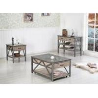 Buy cheap GOOD QUANLITY WOOD AND IRON COFFEE TABLE from wholesalers