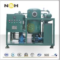 China Easy Operation Turbine Oil Filtration Machine / Used Oil Purification Machine on sale
