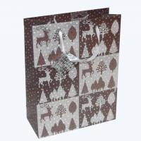 China Christmas gift bag with greeting card wholesale