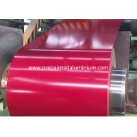 China Alloy AA1050 Pre Painted Aluminium With Impact Resistance 30-2500 mm Width wholesale