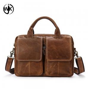 China top quality mens leather briefcase laptop bag online shopping custom shoulder bag men