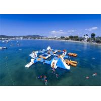 China Professional Huge Inflatable Water Park / Inflatable Sea Water Park For Event on sale