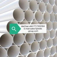 China DIN8078 Thick 4.9mm Length 3m Heat Resistant PVC Pipe wholesale