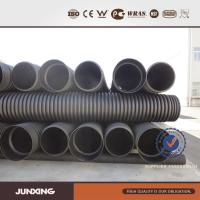 China hdpe Undergroud subsoil drainage double wall corrugated culvert,dwc pipe from China wholesale