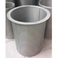 China 304/316 stainless steel truncated conical strainer filter / cylindrical filter strainer wholesale