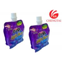 China Plastic Eco-Friendly Stand Up Pouch With Spout / Free Standing Bag Packaging wholesale