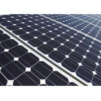 China Wind Resistance Mono Solar Panels Tempered Glass 20 Years Warranty wholesale