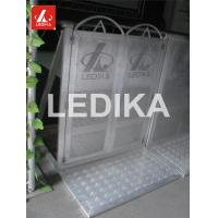 China Explosion Proof Fence 6082 T6 Folding Crowd Control Stands Customized Color wholesale