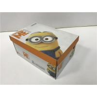 China BGM09 Cardboard Shoe Boxes Golden / Silver Hot - Stamping Customized Logo wholesale