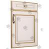 China 18mm House Masonite Molded Panel Interior Doors High Water Absorption wholesale