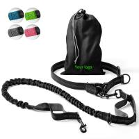 China 2 In 1 Hands Free Retractable Dog Leash Easy Grip Handle OEM / ODM Available wholesale