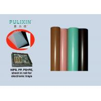 China Rigid 0.5mm Thick Conductive Plastic Sheet PP Roll for Plastic Electronic Package on sale