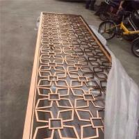 Buy cheap stainless steel sheet metal fabrication laser cut screen room divider from china from wholesalers