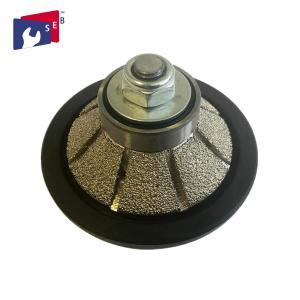 China Bevel E5 Diamond Router Bits Profile Wheel For Shaping Profiling Granite wholesale