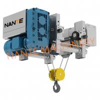 China 12.5 Ton Low Headroom Electric Hoist Steel Rope Hoist For Warehouse on sale