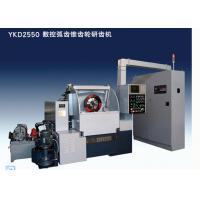 China 3 Axis CNC Spiral Bevel Gear Lapping Machine , Gear Daimeter 500mm, Total Power 18.25KVA wholesale