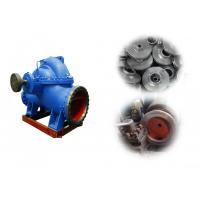 China Volute Casing Double Suction Centrifugal Pump , Radially Split Pump Deliver Stagnant Water wholesale