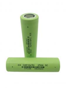 China High Power 3.7 V 2500mAh 18650 Lithium Ion Battery wholesale