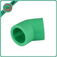 China Frost Proof PPR Pipe Elbow , 45 Degree Pipe Elbow Superior Dimensional Accuracy wholesale
