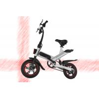Buy cheap Lithium Battery Fold Up Electric Bike , 36V 10 AH Full Size Folding Road Bike from wholesalers