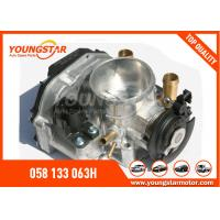 China AUDI A4 Throttle Body 058 133 063H / 408 237 212 002Z With ISO 9001 wholesale