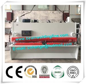 China NC Hydraulic Shearing Machine , Guillotine Type Steel Plate Shearing Machine wholesale
