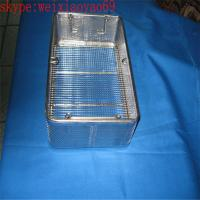China medical stainless steel wire basket/perforated wire mesh baskets with lid wholesale