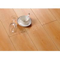 China Walnut Color Waterproof Wood Laminate Carb2 AC4 Embossed 1219X169X12MM Stable wholesale