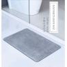 China High quality super absorbant diatomaceous earth mat eco-friendly non slip diatomite bath mat wholesale
