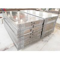 Quality Thermic Oil Heated Hot Press Platen / Plywood Steel Platen 2700 Mm Length for sale