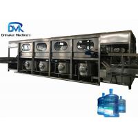 China Complete 5 Gallon Filling Machine 600BPH Mineral Water Bottling Line wholesale
