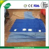 China disposable scissors cardiovasular drape angiography drape sheet wholesale