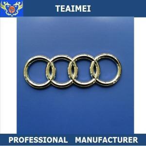 China Decorate Durable OEM Audi Body Car Badge Logos Long Use Life wholesale