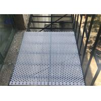 China 3003 6061 6063 5052 Perforated Aluminum Sheet , Alloy Aluminum Plate For Guards wholesale