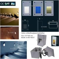 2017 Hot Sales High Quality Recessed RGB LED Wall Lights Slide Stairs Step Indoor Manufactures
