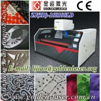 China Galvo Laser Engraving Garment Pieces and Leather Shoes wholesale