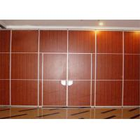 China Operable Restaurant Partition Walls Room Divider Wall Precise Welding Hall wholesale
